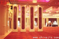 movable sound proof partition wall for hotel and meeting room