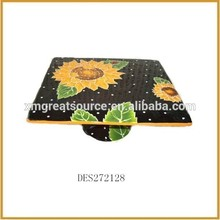 Best selling pretty colors rectangular dishes porcelain