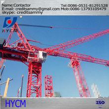 3 to 50m Working range 60m jib tower cranes