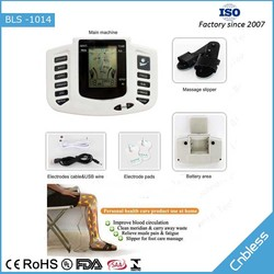 Bless 1014 Effective portable electric ems tens muscle stimulator
