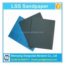 9 in. x 11in. 320 to 3000 Grit Silicon Carbide Abrasive Paper Sheets