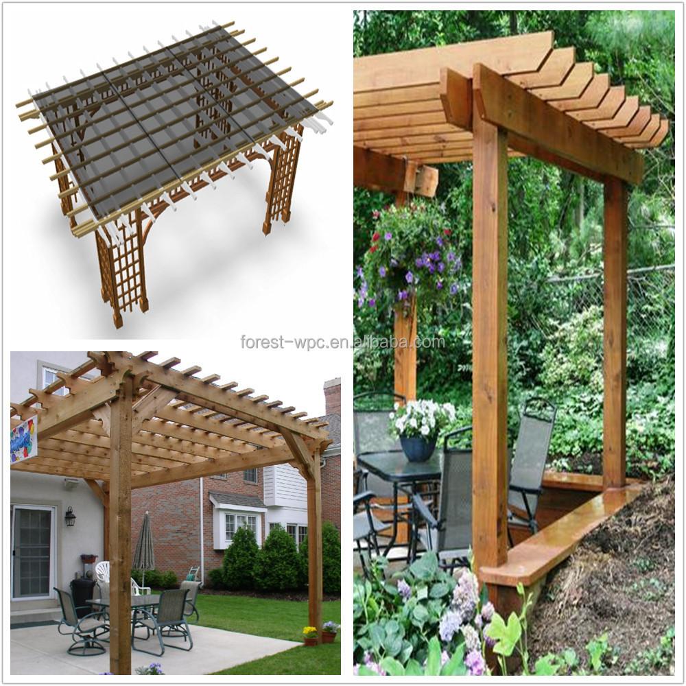 Clear plastic gazebo gazebo roof designs flat roof garden - Postes para pergolas ...