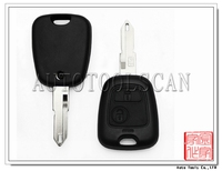 Key cover for Peugeot 106 Remote Shell 2 button Optional 206 306 205 405 models (NE72) [ AS009013 ]