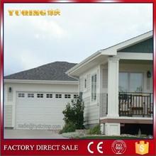 YQG-01 sectional garage door, automatic garage door/white color garage door panels prices/aluminum security door
