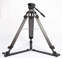 JY0606CG Carbon Fiber Manfrotto compatible professional Video tripod