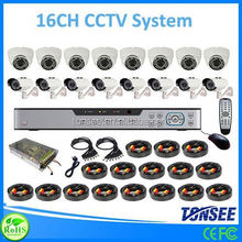 16 channel cctv dvr kits,Auto Electrical System, ahd camera kit