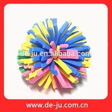 el diseño mismo de eva juguetes de colores personalizada al por mayor de juguete juguete de flores