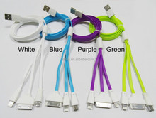 High quality multifunction lighting cable,ubs cable,data cable
