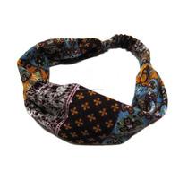 Winter headband pattern fabric head wrap for women