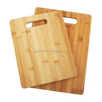bamboo cutting boards with carved handle