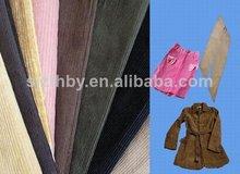 C40*40 77*177 21w estiramiento del algodón de pana de tela para adaptarse a, para el paño