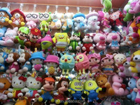 Meet CE and USA standard plush toys for claw machine