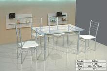 Metal juego de comedor, de hierro forjado de mesas de comedor, imagen de juego de comedor, muebles modernos