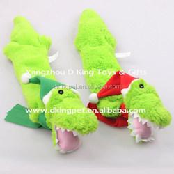 Plush Alligator Christmas Dog Toy Pet Toy