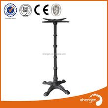 antique design cast iron folding table legs adjustable height 1080