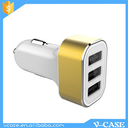 5v 4600mA USB power travel mobile phone car charger for iPhone and other smart phone