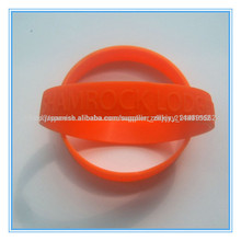 custom silicone deboss wrist band , debossed imprinting silicone wristband