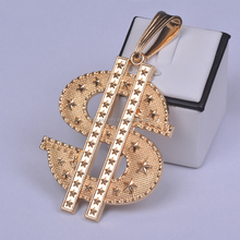Gold plated S Shaped Brazilian Pendants and charms