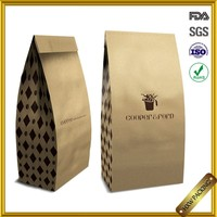 Panama plastic inside thin paper bags packaging