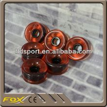 blue color top quality pvc or pu wheels