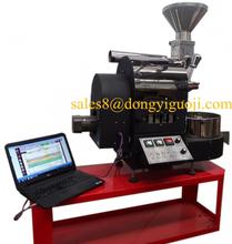 New type mini coffee roaster/1kg coffee roasting machine/coffee bean roaster with data logger skype:lovefreesmoke