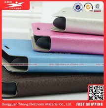 Leather cellphone case/window view flip for NOTE2 N7100 China manfacturer