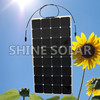 semi-flexible solar panel 120w high efficiency sunpower solar panel