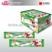 LANTOS BRAND 20g apple jam filled soft candy with good taste and attractive design