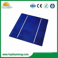 "17.2% efficiency 4.19w 6"" inch 2BB A grade wholesale prices poly Solar Cell made in Taiwan"