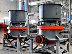 Cone crusher is a machine that can break the marble