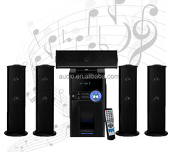 active 5.1 speakers subwoofer with usb,sd,fm radio