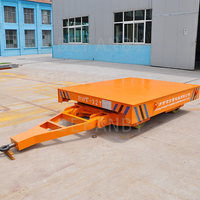 industry use material transfer rail handing trailer