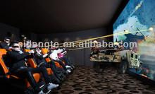 amusement park rides 7D cinema theater movie system suppliers 5d mobile theatre
