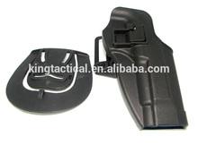 2015 alta calidad glock táctico de la cintura funda de pistola glock pistola pistolera de la cintura