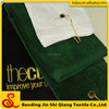 100% cotton velour golf towels with super touch feeling accept OEM