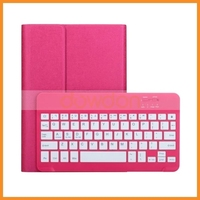 360 Removable Leather Case With Removable Bluetooth Keyboard Case For iPad Air 2