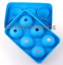 la moda de silicona en forma de bola de hielo bandeja del cubo