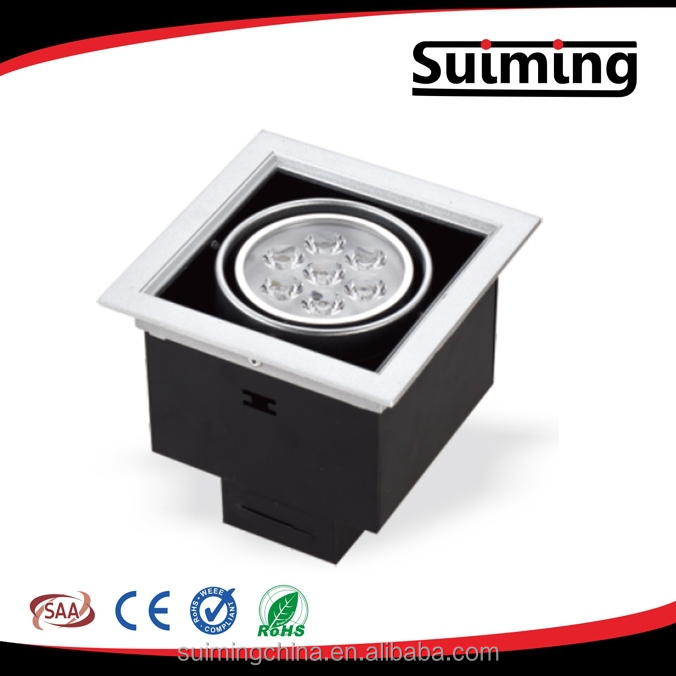 7w 2 7w 3 7w led concealed ceiling grid light for hotel - Concealed led ceiling lights ...