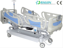 Popular star products!!ICU electric hospital beds multi-function electric hospital bed for home use with 5 functions;DW-BD102A