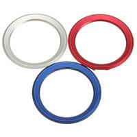 Aluminum 3 Color steering wheel standard decoration inner ring For BMW E39 E36 E60 E90 E34 E46 car styling
