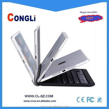 Mini aluminum wireless bluetooth keyboard for ipad mini made in china