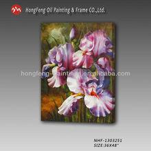 romantic purple simple beautiful flower painting -NHF-1303251-
