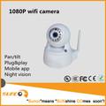 1080 P wifi de la cámara para la seguridad casera, Detección de movimiento, Alertas de correo electrónico