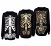 Best price nice polyester black women's custom sublimation hoodies and sweatshirts pullover hoodie long Halloween costume