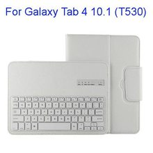 New arrivals Detachable wireless keyboard case for Samsung Galaxy Tab 4 10.1 T530