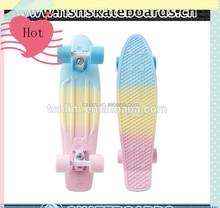 hot best skateboard cheap 22inch marble color skateboard bulk in for sale