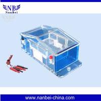 500ml high quality Agarose Horizontal System Electrophoresis gel tank