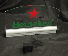 hot sale taxi light table use led sign / double sided led sign / factory price acrylic led sign