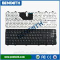 El último teclado para los modelos hp dv6-6000 teclado nuevo idioma ru de repuesto del teclado