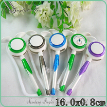 2015 Promotional high quality plastic cheap bank desk pen for bank